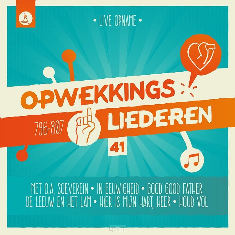 Opwekking 41 cd/dvd (796-807)