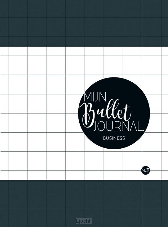 Business bullet journal - dark