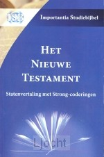 Nieuwe Testament SV + strong-coderingen
